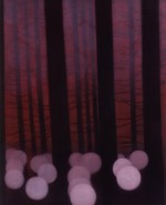 Forest and lights, 1999 by Andrew Browne