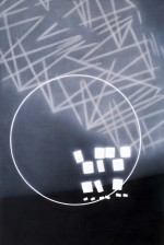 Grid, circle and lights, 1995 by Andrew Browne